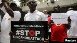 Dân Nam Phi tuần hành chống bài ngoại