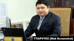 Vũ Đình Duy khi còn đương chức Phó Bí thư Đảng ủy, Tổng giám đốc PVTEX - Nguồn: PVTEX