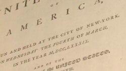 Документы с личными заметками Джорджа Вашингтона