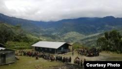 Kawasan Distrik Nirkuri, Nduga, Papua. (Foto: Yosekat Kamarigi/dok)