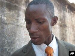 João Salabo chefe da secçção das drogas pesadas da polícia de Malanje