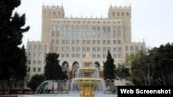 Azərbaycan Milli Elmlər Akademiyasının binası