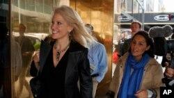 Kellyanne Conway, directora de campanha de Trump