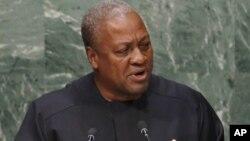 Shugaban Ghana John Mahama Dramani