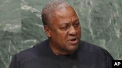 Shugaba Ghana John Dramani Mahama