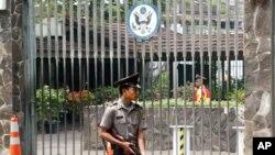 سفارت آمریکا در جاکارتا، پايتخت اندونزی