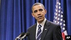 奧巴馬在星期一宣佈與共和黨在減稅問題上達成協議