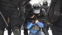 俄全国反普京示威持续 莫斯科草木皆兵封锁市中心