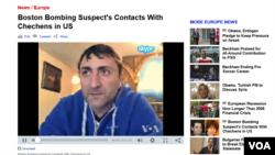 Former Chechen rebel Musa Khadjimuradov talks to VOA about his meetings with Boston Bombing suspect Tamerlan Tsarnaev.