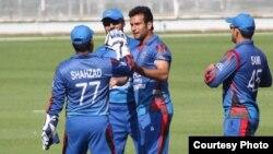 آرشیف: بازیکنان تیم ملی کرکت افغانستان