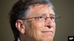 Bill Gates, 57, has a net worth of $67 billion.
