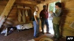 Baraka na imanju Džordža Vašingtona u Maunt Vernonu u kojoj je bilo smešteno oko 8 robova