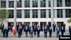 EU dışişleri bakanları zirvesinin Temmuz ayında yapılan zirvesinden