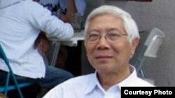 Nhà văn Nguyễn Xuân Hoàng 1940-2014.
