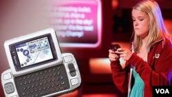 Kate Moore ganadora de la Competencia Nacional de Mensajes de Texto.
