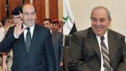نوری المالکی: ائتلاف مورد حمايت سنی ها به رهبری اياد علاوی بايد در دولت آينده عراق حضور داشته باشد