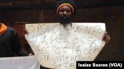 Ativistas protestam contra governador de Malanje