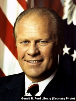 Gerald Ford official presidential portrait by David Hume Kennerly