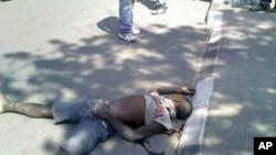 Jovem morto no Bié, pela polícia, durante manifestação de motoqueiros cojntra a brutalidade policial (8 de Setembro de 2011)