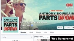 Parts Unknown, programade Anthony Bourdain