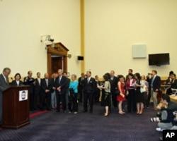 FAPA在国会举行欢迎蔡英文酒会