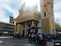 Basílica de Nuestra Señora del Rosario de Chiquinquirá en Maracaibo, Venezuela.