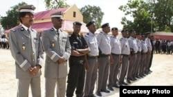 Les éléments de la force de sécurité tchadienne,