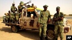 Des soldats Burkinabè dans le Nord du Mali.