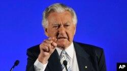 Cựu Thủ tướng Úc Bob Hawke