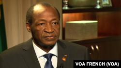 Blaise Compaoré, Président du Burkina Faso.