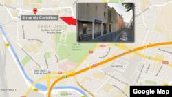 سن دونی در حومۀ شمالی شهر پاریس موقعیت دارد.