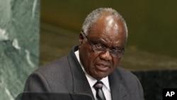 히피케 푸이네 포함바 나미비아 대통령 (자료사진)