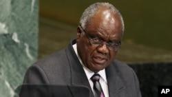 Prezida Hifikepunye Pohamba wa Namibiya