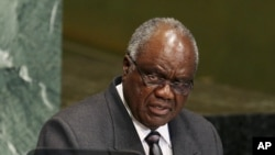 Rais wa Namibia, Hifikepunye Pohamba, mshindi wa tuzo za utawala bora kutoka taasisi ya Mo Ibrahim