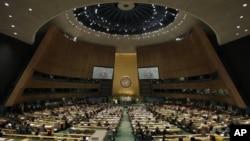 67-я сессия Генеральной ассамблеи ООН. Нью-Йорк, 25 сентября 2012 года