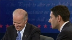 Biden and Ryan Engage in Spirited Vice Presidential Debate