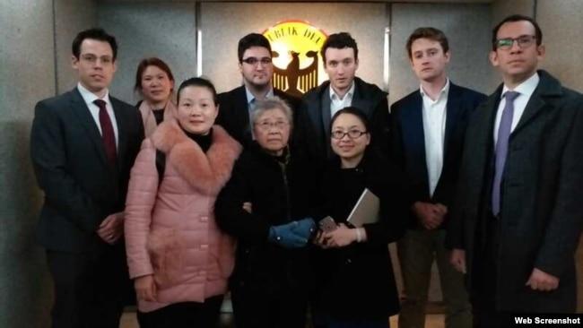 黄琦律师探视不成反遭撤 老母会晤五国领事再遭控制