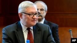 Wakil Menteri Luar Negeri Rusia, Sergei Ryabkov (foto: dok).