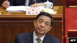 2012年3月5日,薄熙来在北京出席全国人大会议