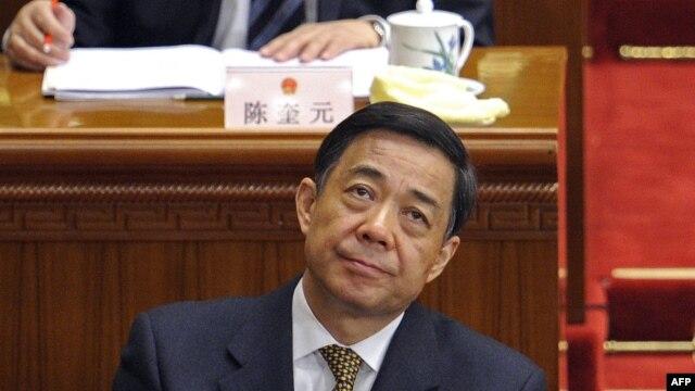 중국에서 부패 혐의로 조사 중인 보시라이 전 충칭시 서기. (자료사진)