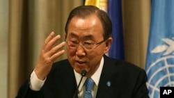 Tổng thư ký Ban Ki-moon muốn có sự tham gia của Iran trong hội nghị về Syria