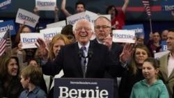 Amerikaan filannoo pirezidaantummaa bara 2020 nama dorgomsiifachuutti jirti dorgommii New Hampshire Berni Sandersitti moo'e