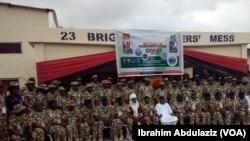 Sojojin dake yaki da 'yan Boko Haram
