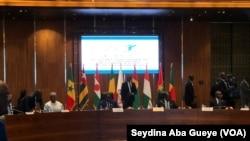 Six des huit présidents de l'espace UEMOA étaient présents à Dakar, le 3 décembre 2019.