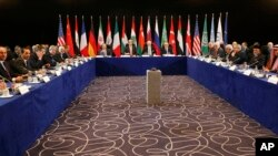 Pertemuan ISSG di Munich, Jerman, 11 Februari 2016 (Foto: dok). Para diplomat dari Amerika, Rusia, Eropa dan negara lain memulai pembicaraan sehari lagi hari di Jerman mengenai krisis yang sedang terjadi di Suriah,Sabtu (13/2).