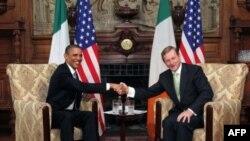 Obama İrlanda'da Coşkuyla Karşılandı