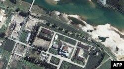 Ядерный центр в Йонбене. КНДР. Архивное фото.