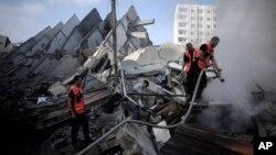 Israel dan Palestina menyepakati rekonstruksi Jalur Gaza yang hancur akibat perang (foto: dok).