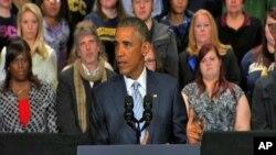 FILE - U.S. President Barack Obama.