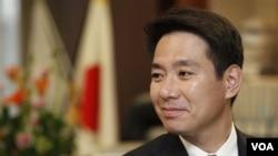 Menteri Luar Negeri Jepang Seiji Maehara. (foto: dok)